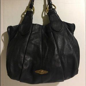 Elliott Lucca Satchel leather handbag